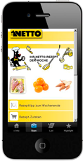 netto product mobile page example
